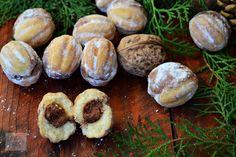 Nuci umplute cu crema - CAIETUL CU RETETE Muffin, Breakfast, Food, Morning Coffee, Essen, Muffins, Meals, Cupcakes, Yemek