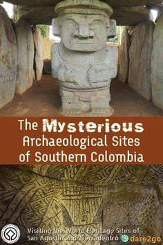 An archaeological mystery: the stone statues and tombs of San Agustín and Tierradentro in Colombia. Who created them, and when? And what happened later? Visit Colombia, Colombia Travel, Brazil Travel, Costa Rica Travel, Peru Travel, Wanderlust Travel, Travel Tips, Usa Travel, Travel Advice