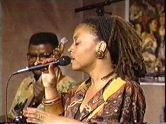 "In this performance clip from the early 1990's Cassandra Wilson sings ""Round Midnight"" backed by a trio including drummer Carter Beauford."