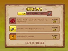 Knightmare Tower - Quests