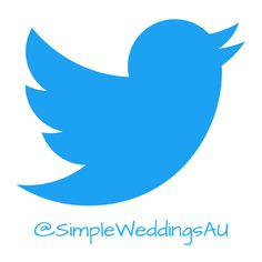Follow us on Twitter! Ask us questions give us feedback and let us know what you think about our tweets! #SimpleWeddingsAU