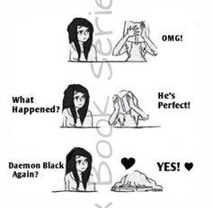 #Obsidian #Daemon #Black ♥