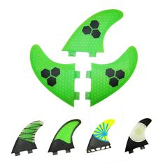 3 PCS/SET 2016 New Green Surf Fins/Surfboard Fins FCS/Fiberglass Surf Fins beehive Fsurfing fins For Men And Women G5/G7-in Surfing from Sports & Entertainment on Aliexpress.com | Alibaba Group
