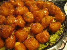 General Tso's Chicken. Made with Quaker Steak and Lube's Thai'R'cracker sauce!