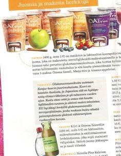 Froosh uutuus kiiwi-omena Maku-lehdessä 8/2012