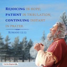 Today's verse is Romans Rejoicing in hope; patient in tribulation; continuing instant in prayer; Bible Verse For Today, Encouraging Bible Verses, Verse Of The Day, Bible Quotes, Psalm 71, Tamil Bible Words, Todays Verse, Jesus Stories, Romans 12