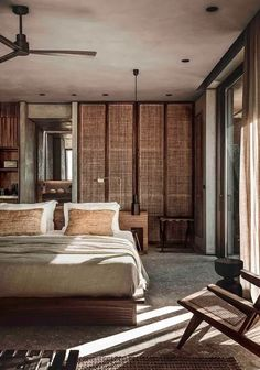 With its minimalist concrete walls, natural material & handmade furniture, CASA COOK Chania is the perfect laid-back luxury hotel for families. Loft Design, Design Hotel, House Design, Trendy Furniture, Home Furniture, Casa Cook Hotel, Modern Bedroom, Bedroom Decor, Design Bedroom