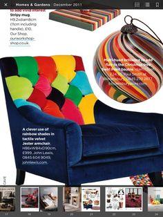 Technicolor chair