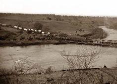 Old Rappahannock Virginia | Germanna Ford, Rappahannock River, Virginia. Grant's troops crossing ...