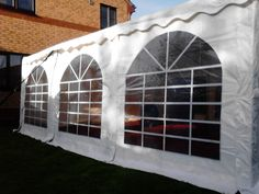 One of our 6m by 6m Classic marquee's