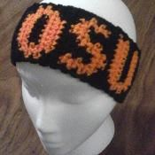 OSU Ear Warmer - via @Craftsy