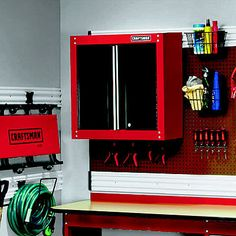 Craftsman garage cabinet.