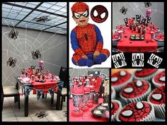 Ellys big girl Spiderman Party for when she is finally potty trained!!
