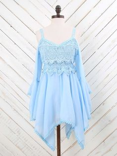 Altar'd State Lacy Romance Top