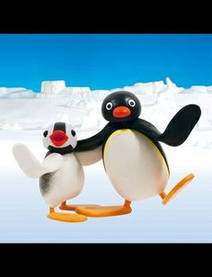 Pingu. You watch this show with a smile on your face. Asher liked it first and aunt Katie thought he was crazy. I guess we're all crazy because I like it too!...lh