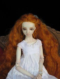 Lil girl look Pretty Dolls, Cute Dolls, Beautiful Dolls, Fairy Dolls, Blythe Dolls, Marina Bychkova, Enchanted Doll, Polymer Clay Dolls, Barbie World