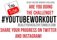 The 30 Day Youtube Workout Calendar