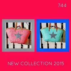 sietecuatrocuatro: NEW COLLECTION ... NUEVA TEMPORADA 2015 ... CAPAZOS DE 744 capazos-beach-bags-summer-verano-sol-sun-playa-beach