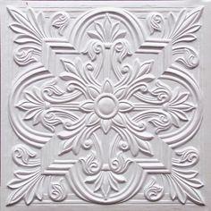 Ceiling tiles, backsplash or photo drop  # 302 white pearl for $9.99  www.ceilingtilesbyus.com