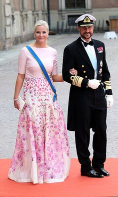 13 juni 2015 zweden Crown Princess Mette-Marit and Crown Prince Haakon of Norway  Photo: Getty Images