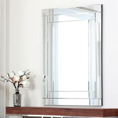 ABBYSON LIVING Fairmont Rectangle Wall Mirror - Overstock Shopping - Great Deals on Abbyson Living Mirrors
