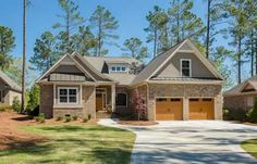 Designer Builders - Aiken SC - cottage home, brick exterior, hardie siding, metal accent roof, craftsman