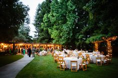 Trentadue Winery || Dine outside amongst the Redwoods and dance under the covered patio! #milestoneeventsgroup #outdoorwedding #winecountry