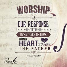 Worship Quotes Praisefm Praisefmradio Na Pinterestu