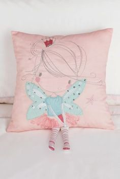 Isabella Fairy Cushion from Next