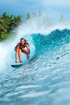 I want to surf with my girl B.B.