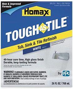 Amazon Com Tough As Tile Homax Tile Refinishing Tub Sink
