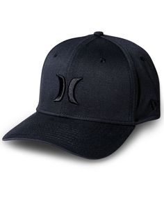 You wear more than one hat but you're still lovable you underneath this fly flexfit hat by Hurley. | Polyester/spandex | Spot clean | Imported | Hurley men's flexfit hat | Curved visor; 3D icon embroi