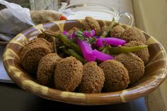 Falafel, the delicious fritter | Libaliano Lebanese and Italian cooking classes