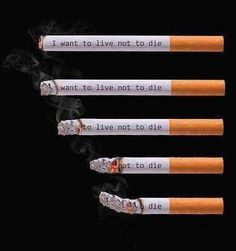 Quit Smoking Tips. Kick Your Smoking Habit With These Helpful Tips. There are a lot of positive things that come out of the decision to quit smoking. Quit Smoking Quotes, Quit Smoking Motivation, Quotes About Smoking, Smoking Kills, Anti Smoking, Smoking Campaigns, Rauch Fotografie, Cigarette Aesthetic, Live Or Die