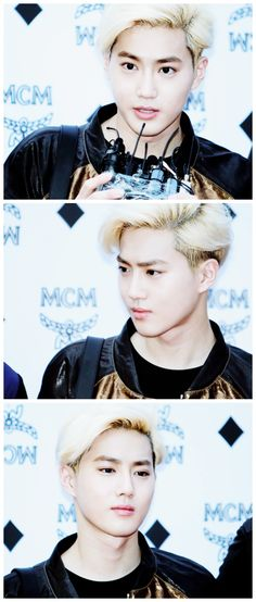 handsome suho ( ´ ▽ ` ) #exo