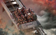 With top speeds of 161 k p/h, Dreamworld's Tower of Terror II is probably my favourite ride at the park. Image pinned from Charlotte Harris Fastest Roller Coaster, Tower Of Terror, Roller Coasters, Queensland Australia, Park, Charlotte, Top, Image, Roller Coaster