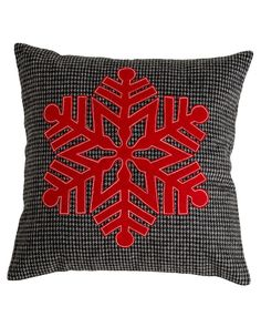 """""""Snowflake"""" Decorative Pillow is on Rue. Shop it now."""
