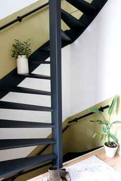 Loft Staircase, House Stairs, Interior Architecture, Interior Design, Loft Spaces, Love Home, Dream Rooms, House Painting, Stairways