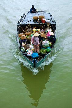 River Boat - Hoi An, Vietnam