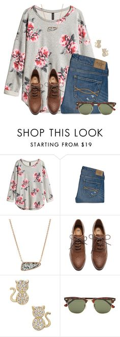 """Tomorrow is the last day of November!!"" by flroasburn ❤ liked on Polyvore featuring H&M, Abercrombie & Fitch, Kendra Scott and Ray-Ban"