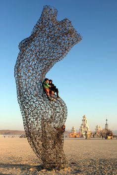 fantastic sculpture @ burning man 2011