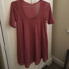 Urban outfitters sweater dress Pink urban outfitters Ecote dress Urban Outfitters Dresses Long Sleeve
