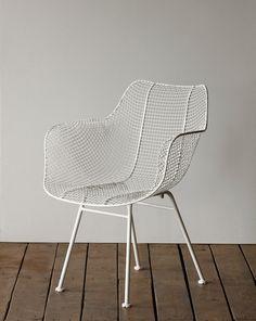 Biscayne Armchair   White