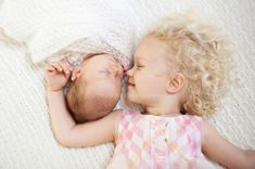 Chrystal Cienfuegos Photography Toddler Newborn Sibling Sisters