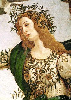 Sandro Botticelli - Minerva bändigt den Kentauren