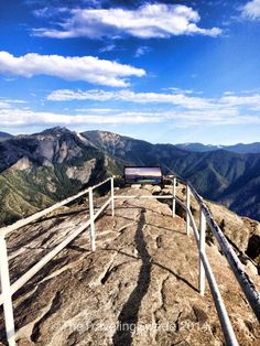 Moro Rock, Sequoia National Park, CA.  http://www.thetravelingswede.com/sequoia-national-park-ca/