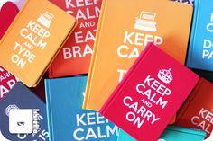 Cadernos artesanais - Libretto Série Keep Calm