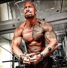 32 Photos That Prove The Rock Turned Into An Actual Super Human In 2013