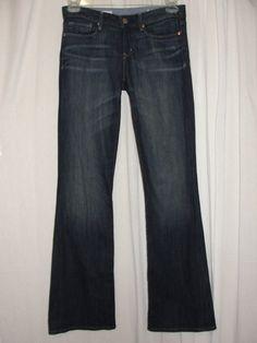 GAP Jeans 1969 Sexy Boot Cut Leg Sz 28 6R Stretch Low Rise Button ...