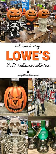 Halloween Hunting: Lowe's 2019 Halloween Collection - Spooky Little Halloween Halloween Porch, Halloween Decorations, Scary Halloween, Happy Halloween, Halloween Potions, Farmhouse Halloween, Halloween Costumes, Halloween Wreaths, Women Halloween